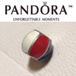 RETIRED Authentic Pandora Beach Ball Charm RARE